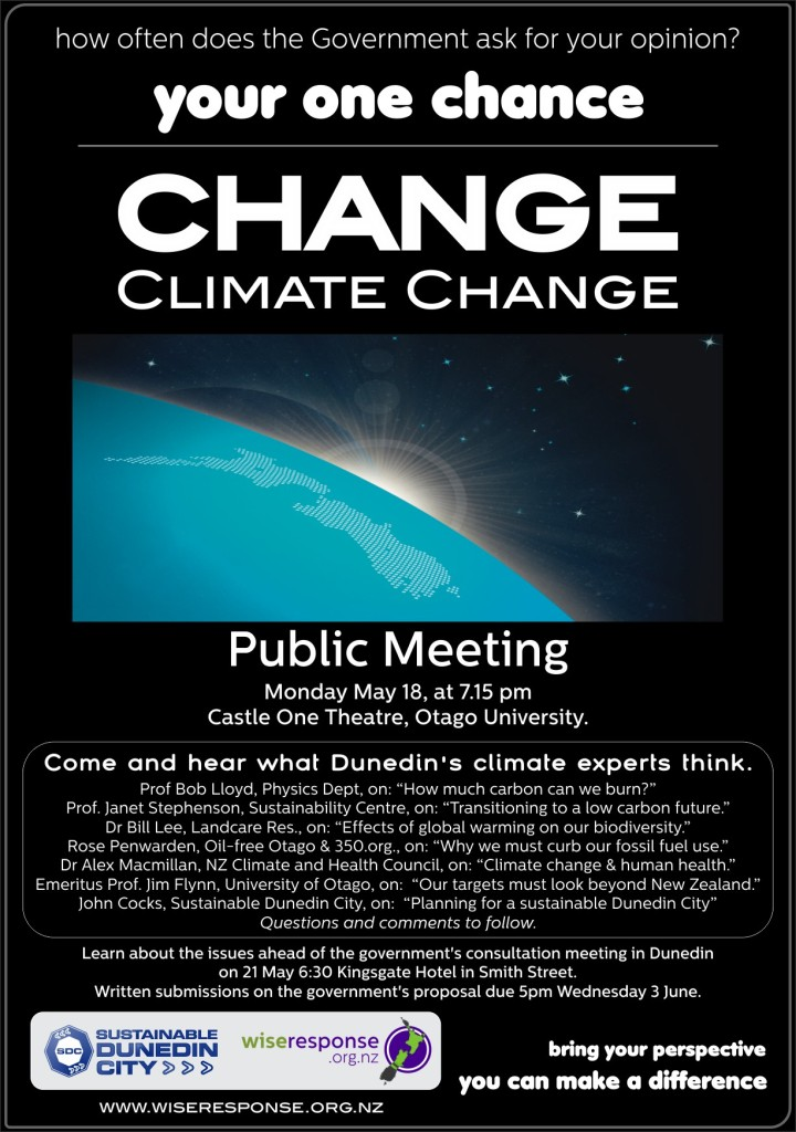 Climate Change Poster 2
